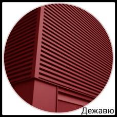 Фасадная панель — Дежавю | 0,5 мм | PE | RAL 3011