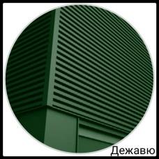 Фасадная панель — Дежавю | 0,5 мм | PE | RAL 6020