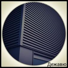 Фасадная панель — Дежавю | 0,5 мм | PE | RAL 7024