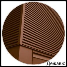 Фасадная панель — Дежавю | 0,5 мм | PE | RAL 8004