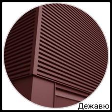 Фасадная панель — Дежавю | 0,5 мм | PE | RAL 8017