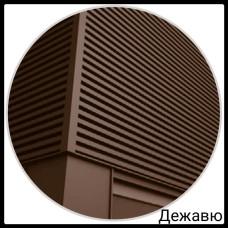 Фасадная панель — Дежавю | 0,5 мм | PE | RAL 8019