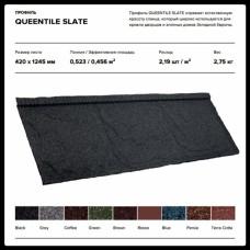 Композитная черепица ▦ QUEENTILE SLATE Grey