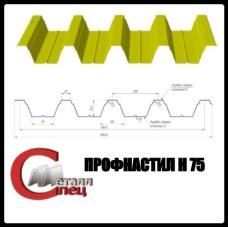 Несущий Профнастил Н-75 / 0,9 мм