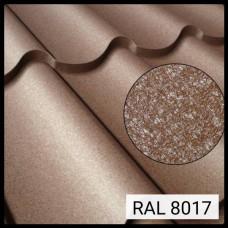 Металлочерепица Модена RAL 8017