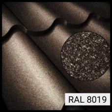 Металлочерепица Модена RAL 8019