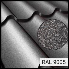 Металлочерепица Модена RAL 9005