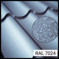 Металлочерепица Модена RAL 7024