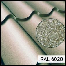 Металлочерепица Модена RAL 6020