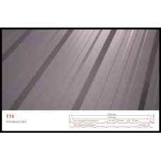 Профнастил Т 15 RAL 8019