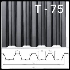 Профнастил Т-75 Оцинкованный