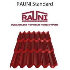 Металлочерепица RAUNI Корея 0,45 мм мат 3005