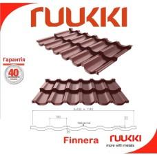 Модульная черепица ® Ruukki Finnera Crown BT RR 887 0,52 мм