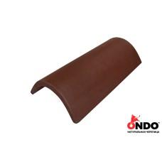 Коньковая черепица ONDO Marron (коричневая)
