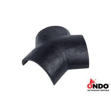 Соединитель тройной ONDO Grafito (серый)