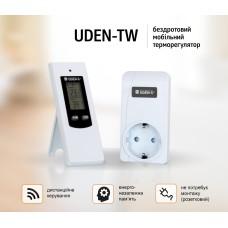 Терморегулятор для керамических обогревателей UDEN-TW беспроводной розеточный с пультом в комплекте