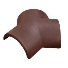Соединитель тройной ONDO Marron (коричневый)