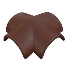 Соединитель четырех ребер ONDO Marron (коричневый)