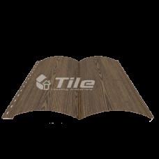 Металческий сайдинг Блок Хаус 0,4 мм Золотой дуб