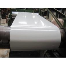 Гладкий лист оцинкованный 0,4 мм с полимерным покрытием RAL 9003.Китай