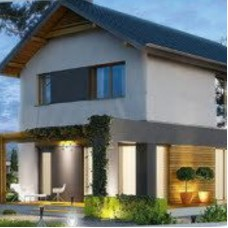 Жилой дом по технологии ЛСТК . Цена под ключ площадь дома 128 кв.м.