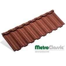 Композитная металлочерепица - Metrotile CLASSIC (1330 мм х 410 мм) Бельгия