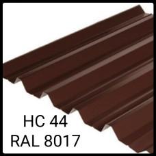 Профнастил НС-44  0,45 мм   Nippon   RAL 8017    коричневый глянец   Китай