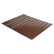 Профнастил С-10 | RAL  8017 | коричневый | глянец  | 0,45 мм Китай