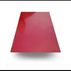 Лист гладкий оцинкованный 0,43 мм с полимерным покрытием Ral 3005 (2м*1,25м) Китай.