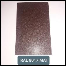 Гладкий Лист 0,5 мм RAL 8017 Arcelor Mittal Германия (2000 мм*1250 мм)
