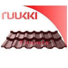 Модульная металлочерепица Finnera® Ruukki Purex RR 779 - 0,52 мм .