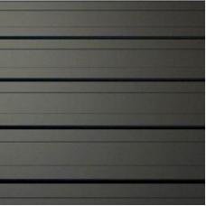 Доска   Панели вертикальные для фасада   Черный RAL 9005   0,5 мм   ArcelorMittal  