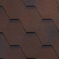 Битумная черепица RUFLEX SOTA - Темный шоколад, Dark Chocolate