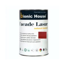 Маслосодержащий антисептик для дерева | FACADE LASUR | Bionic-House | 1л | Вишня А-108   |