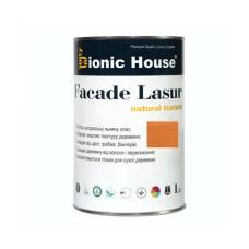 Маслосодержащий антисептик для дерева 1 л | FACADE LASUR | Миндаль А-112 | Bionic-House