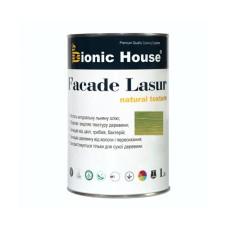 Маслосодержащий антисептик для дерева  | FACADE LASUR |   1 л Изумруд А-114 | Bionic-House |