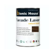 Лессирующий антисептик для дерева - FACADE LASUR Bionic-House 1 л Палисандр А-111