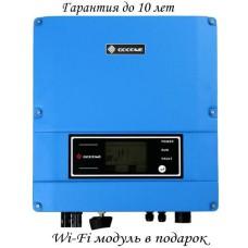 Сетевой солнечный инвертор GoodWe 3кВт, 220В  (Модель GW3000-SS)