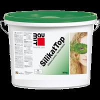 Baumit SilikatTop Декоративная фасадная штукатурка барашек силикон-силикатная  1.5 к  25 кг