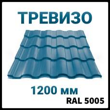 Металлочерепица Термастил Тревизо 0,5 мм глянец RAL 5005 Китай Польша