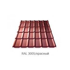 Металлочерепица Rannila DG 4345 PE 0,45 мм RAL 8017