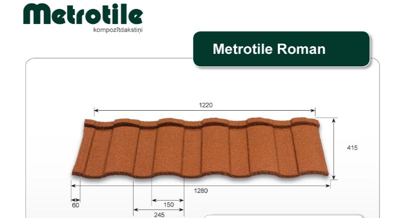 "Buy-in-Ukraine-""Metrotile Roman"" - Composite-Tile-(Belgium)"
